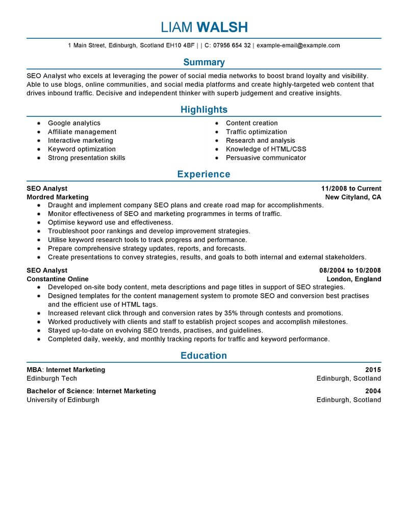 best seo resume example livecareer social media manager objective marketing professional Resume Social Media Manager Resume Objective