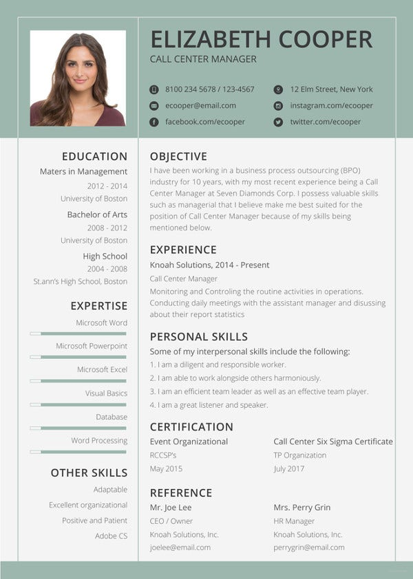 bpo resume templates pdf free premium format for assistant manager operations template1 Resume Resume Format For Assistant Manager Operations Bpo