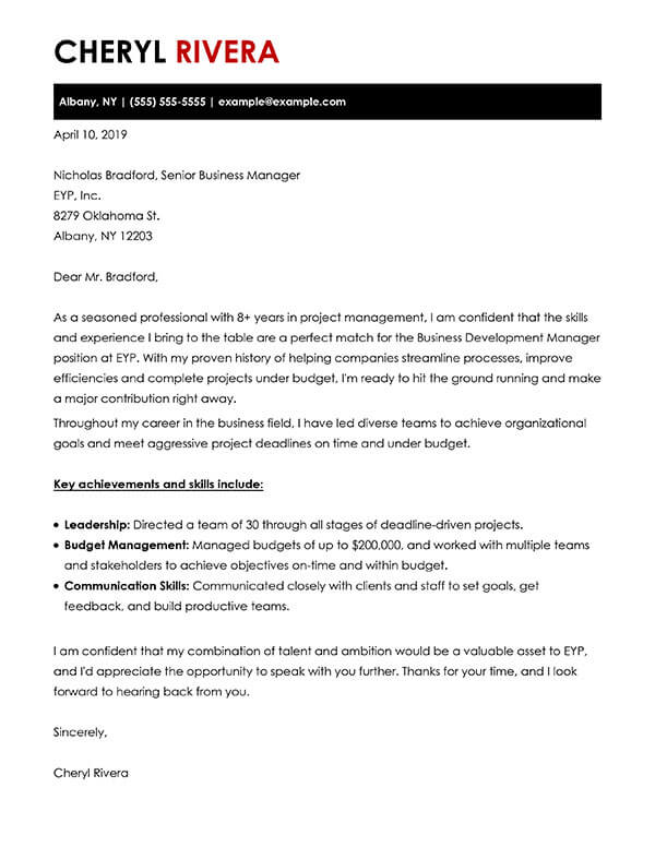 build your cover letter examples myperfectcoverletter whats for resume look like Resume Whats A Cover Letter For A Resume Look Like