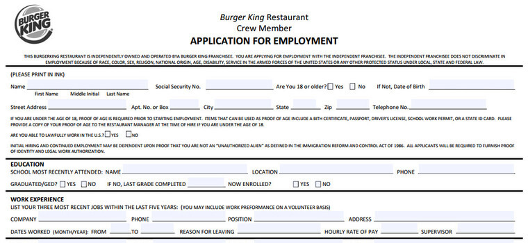 burger application careers job requirements interview tips assistant manager resume pdf Resume Burger King Assistant Manager Resume