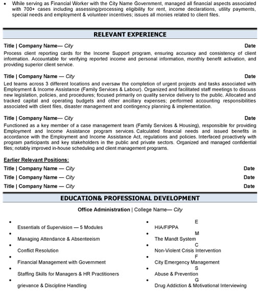 business administration resume sample template examples adm management p2 Resume Business Administration Resume Examples