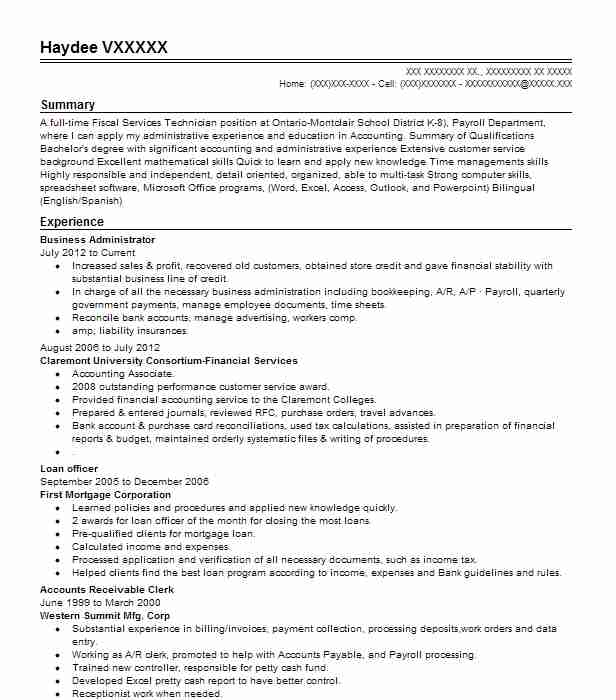 business administrator resume example livecareer administration examples vp development Resume Business Administration Resume Examples