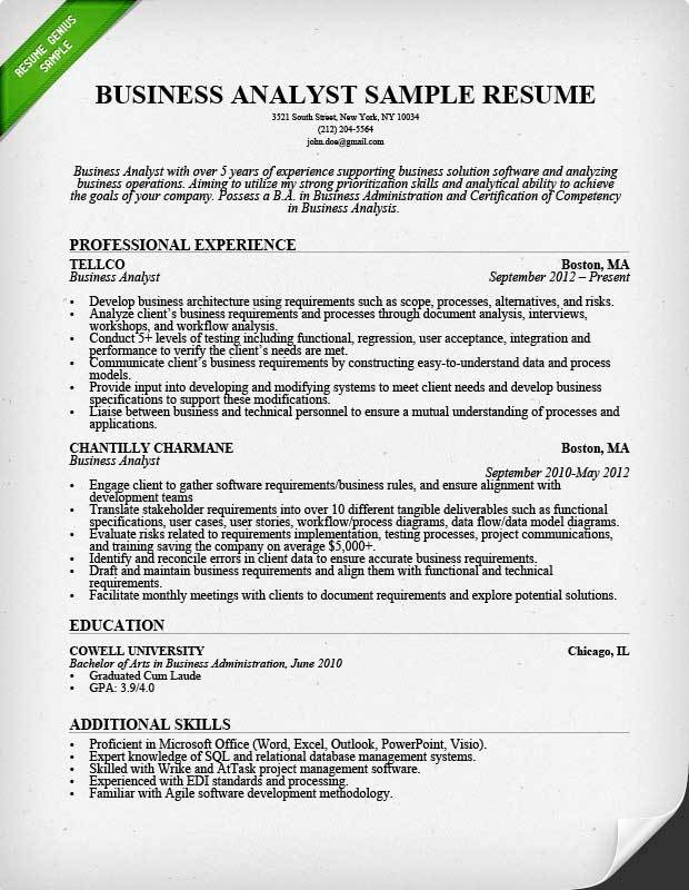 business analyst responsibilities resumes news resume for experienced sample image Resume Resume For Experienced Business Analyst