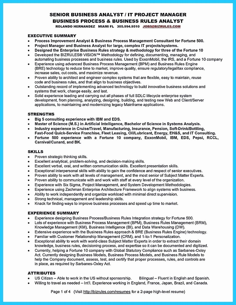 business analyst resume summary examples best of create your astonishing resu entry level Resume Entry Level Business Analyst Resume Indeed