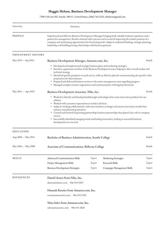 business development manager resume examples writing tips free guide io create without Resume Business Manager Resume