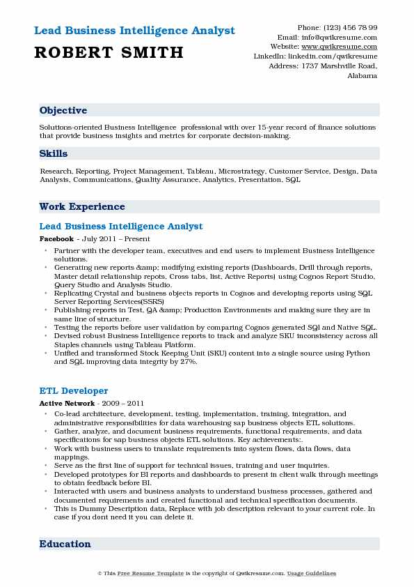 business intelligence analyst resume samples qwikresume manager pdf vikings season Resume Business Intelligence Manager Resume
