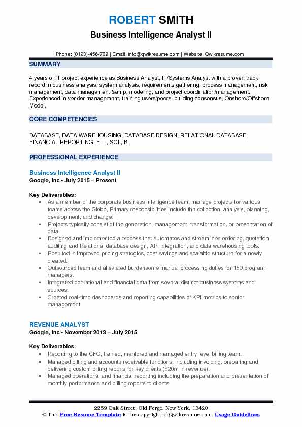 business intelligence analyst resume samples qwikresume senior pdf relevant skills for Resume Senior Business Intelligence Analyst Resume