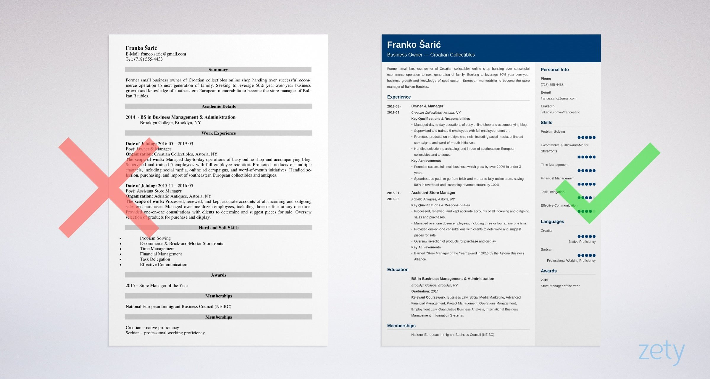business owner resume samples template guide example finance manager summary the Resume Business Owner Resume Template