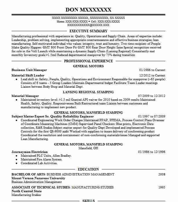 business unit manager resume example resumes livecareer transaction advisory services Resume Business Manager Resume