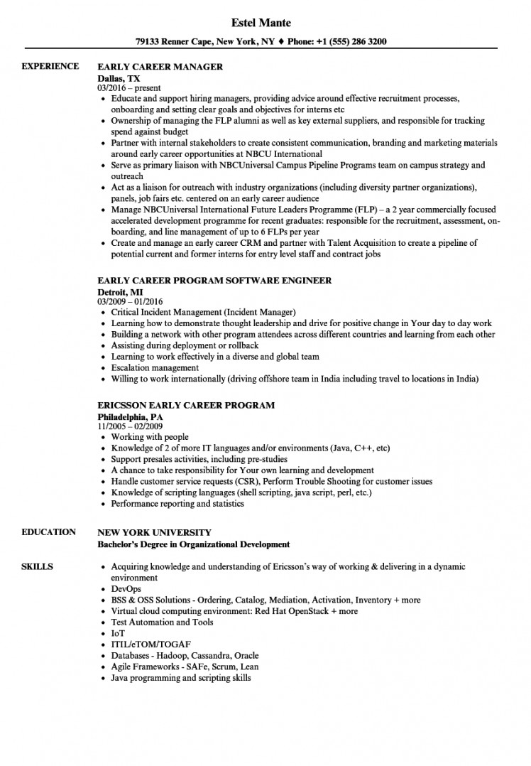career resumes examples resume template builder example openstack experience samples Resume Openstack Experience Resume