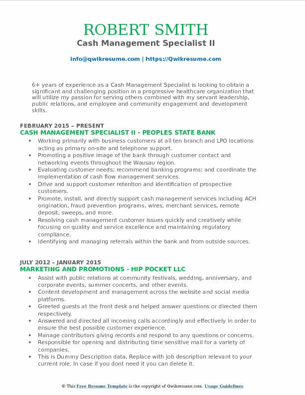 cash management specialist resume samples qwikresume pdf hair stylist template example of Resume Cash Management Resume Samples