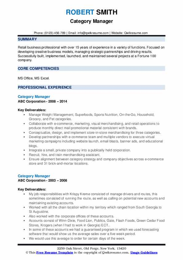 category manager resume samples qwikresume categories skills pdf auto title clerk sample Resume Resume Categories Skills