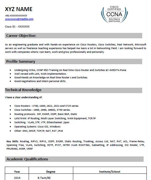 ccna resume samples top templates in ceh for freshers smaple summary statement examples Resume Ceh Resume For Freshers