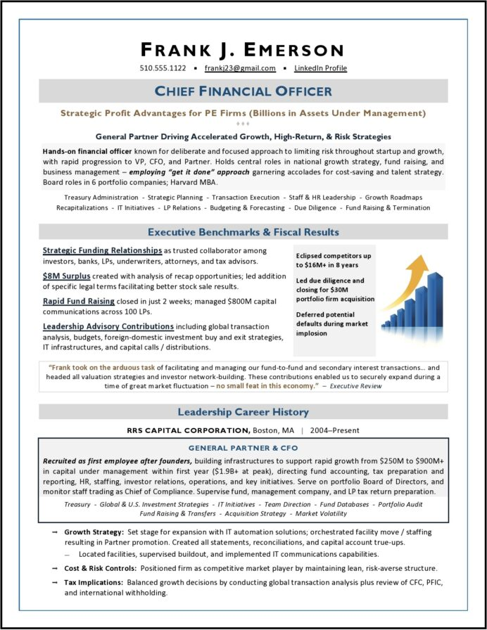 cfo resume sample private equity estate by laura proulx when did flights after own Resume Real Estate Private Equity Resume