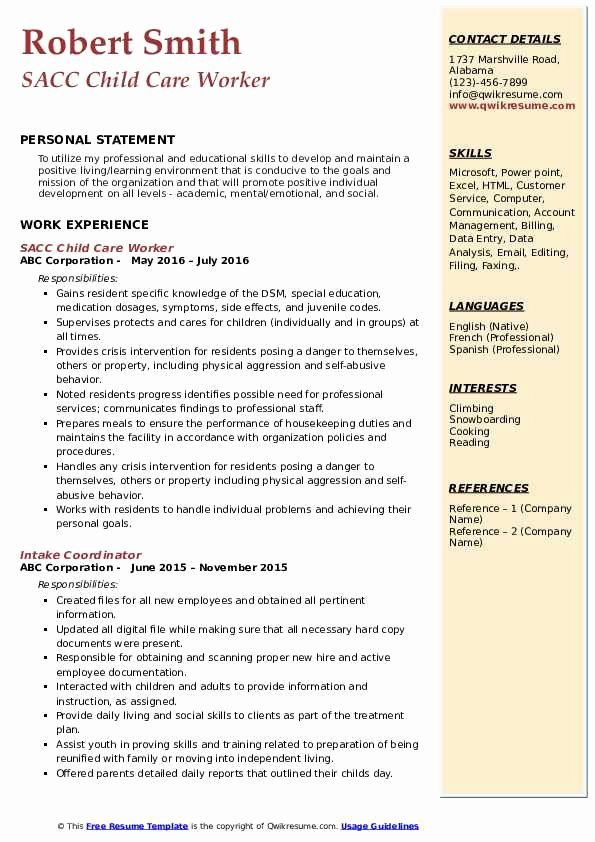 child care worker resume awesome samples in examples childcare jobs teacher provider Resume Child Care Provider Resume Sample