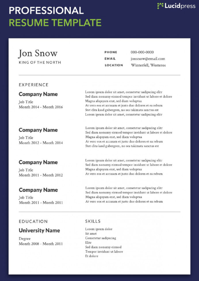 chronological resume traditional design template builder example your formats guide for Resume Chronological Resume Traditional Design