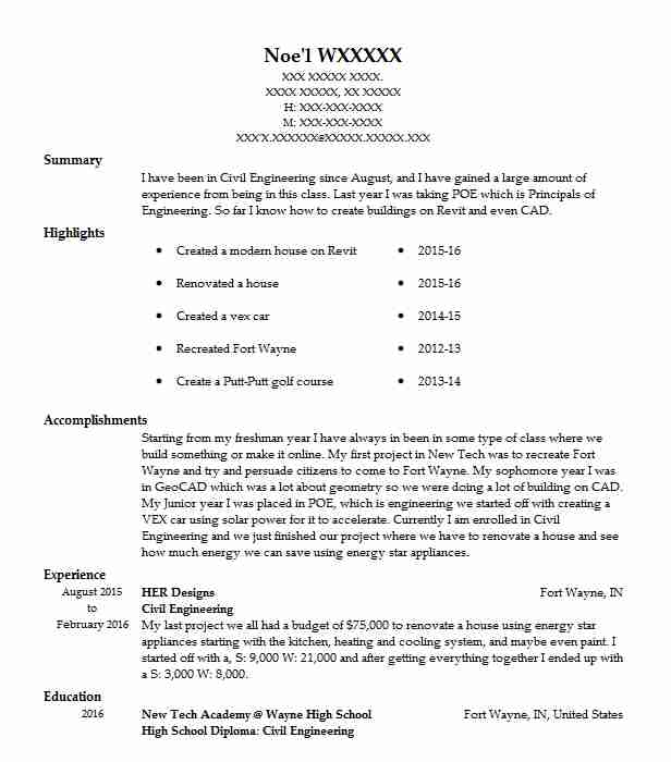 civil engineering resume objective mryn ism for college graduate example and writing tips Resume Objective For Resume Civil Engineering