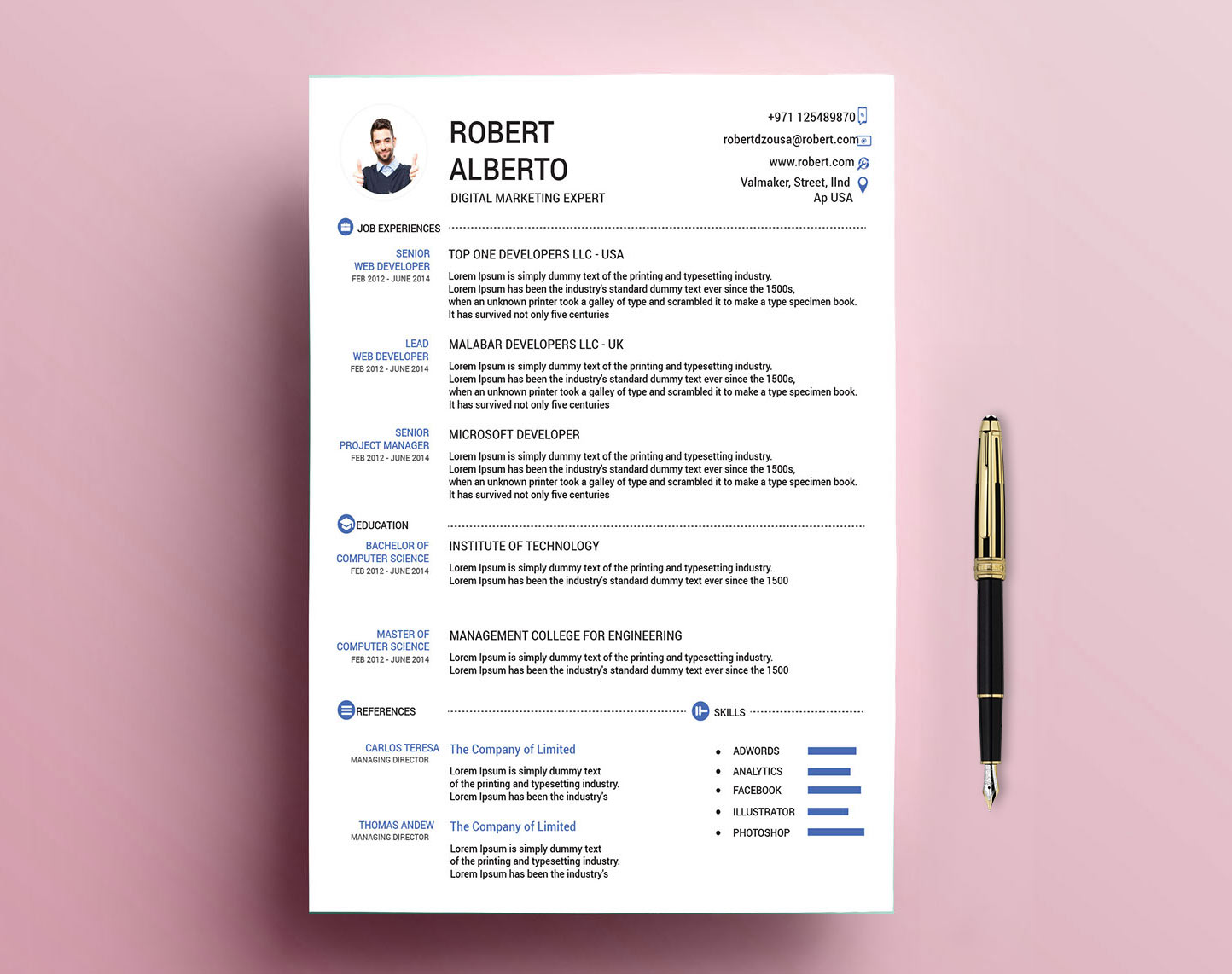 classic resume template free with formats resumekraft software engineer word social media Resume Classic Resume Template