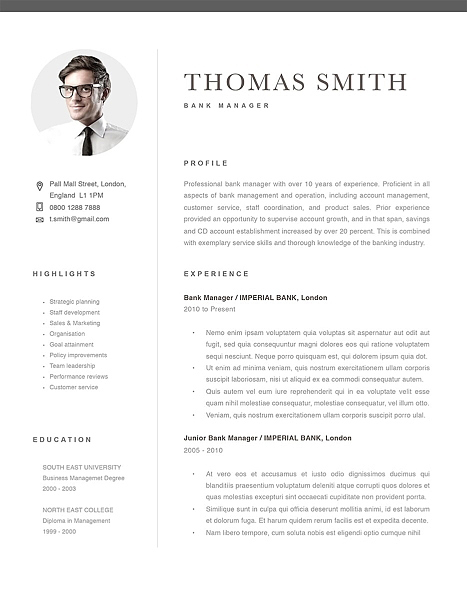 classic resume template resumeway 467x604 oracle upload director of product management Resume Classic Resume Template