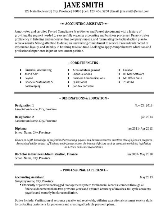 click here to this accounting assistant resume template http resumetemplates101 student Resume Accounting Assistant Resume Sample