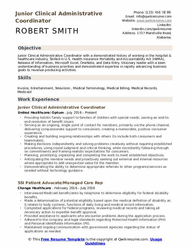 clinical administrative coordinator resume samples qwikresume pdf cota cover letter human Resume Clinical Administrative Coordinator Resume