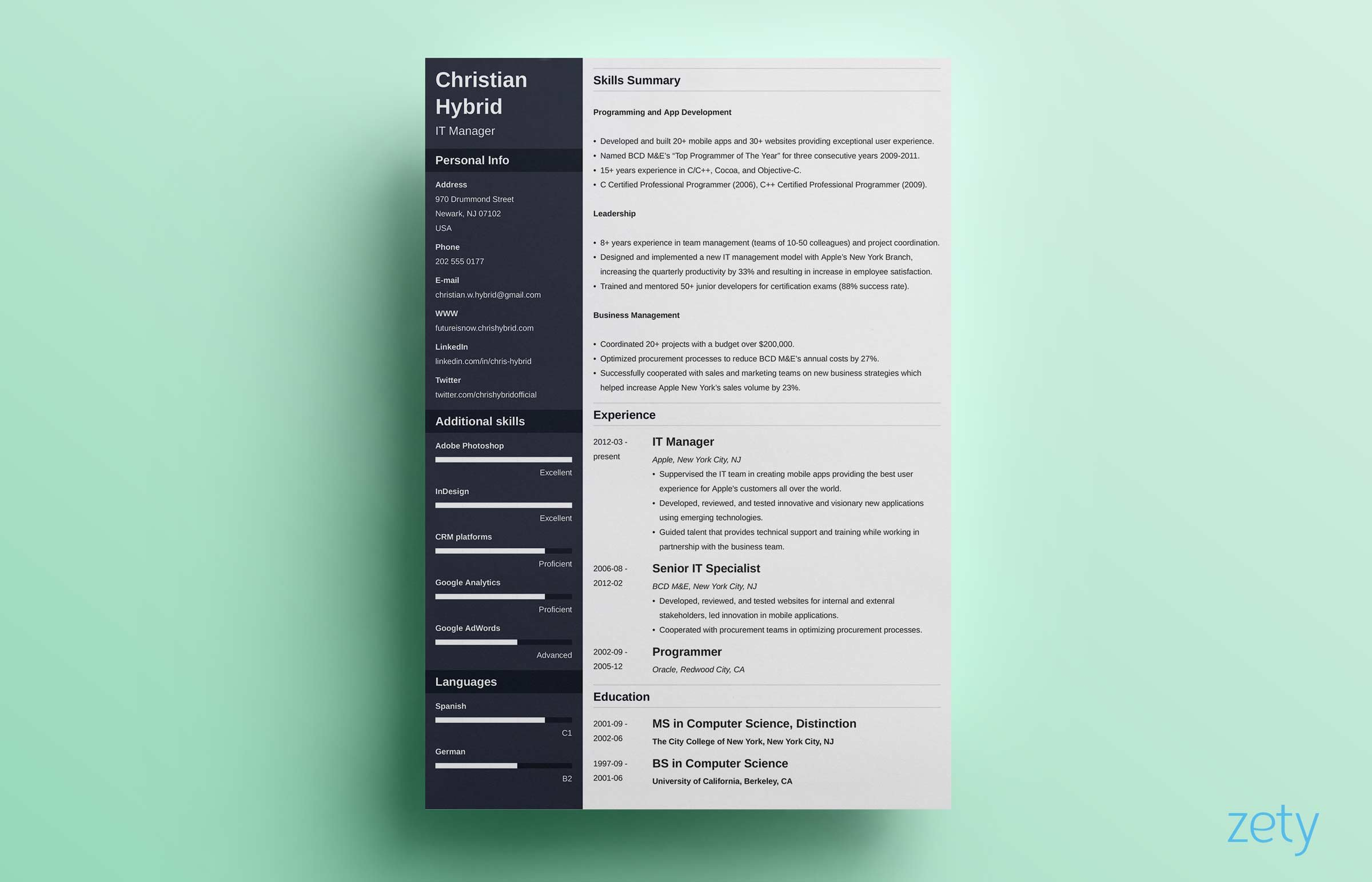 combination resume template combo examples define format career objective tree service Resume Define Combination Resume