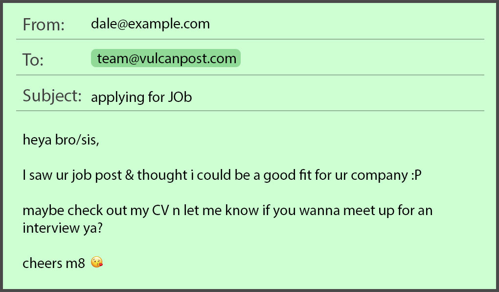 common job application mistakes in emails resumes by seekers writing an email with resume Resume Writing An Email With Resume