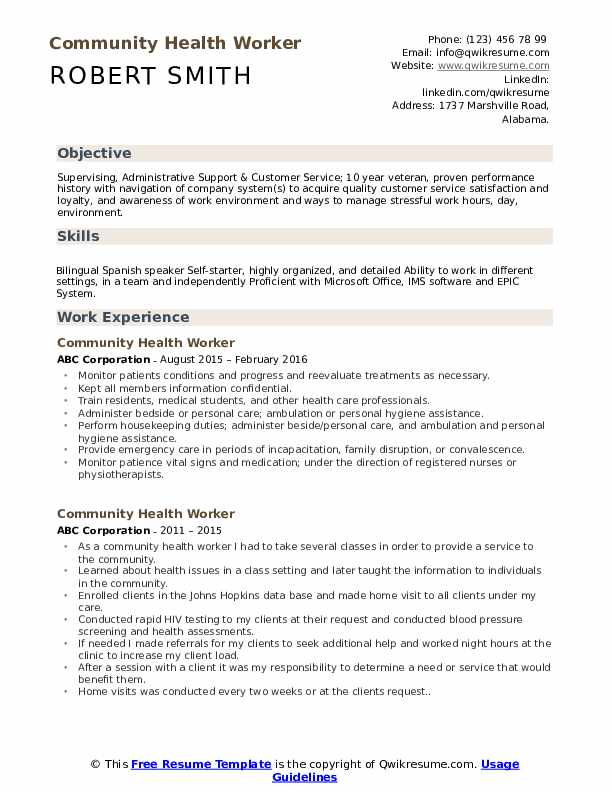 community health worker resume samples qwikresume for service pdf packet core engineer Resume Resume For Community Service Worker