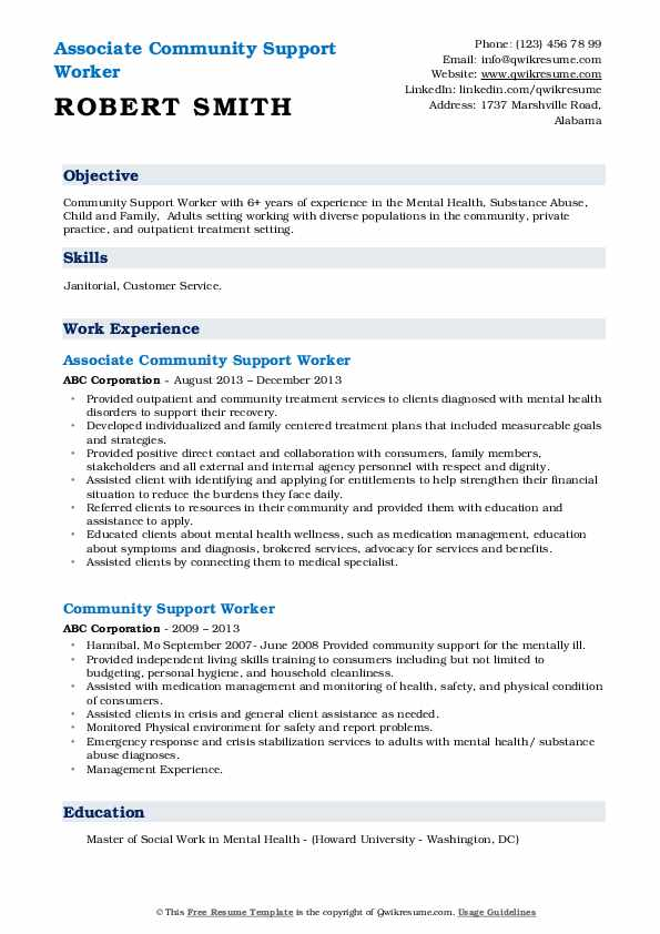 community support worker resume samples qwikresume for service pdf bootstrap template Resume Resume For Community Service Worker