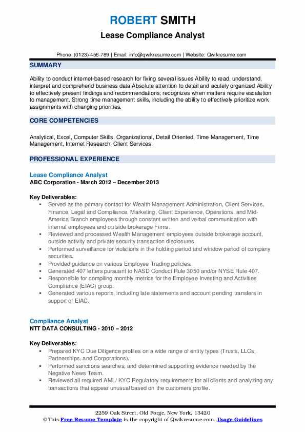 compliance analyst resume samples qwikresume sample pdf classroom volunteer ux designer Resume Compliance Analyst Resume Sample