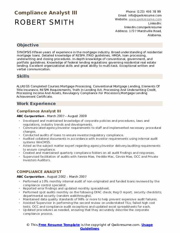 compliance analyst resume samples qwikresume sample pdf sap hcm year experience case Resume Compliance Analyst Resume Sample
