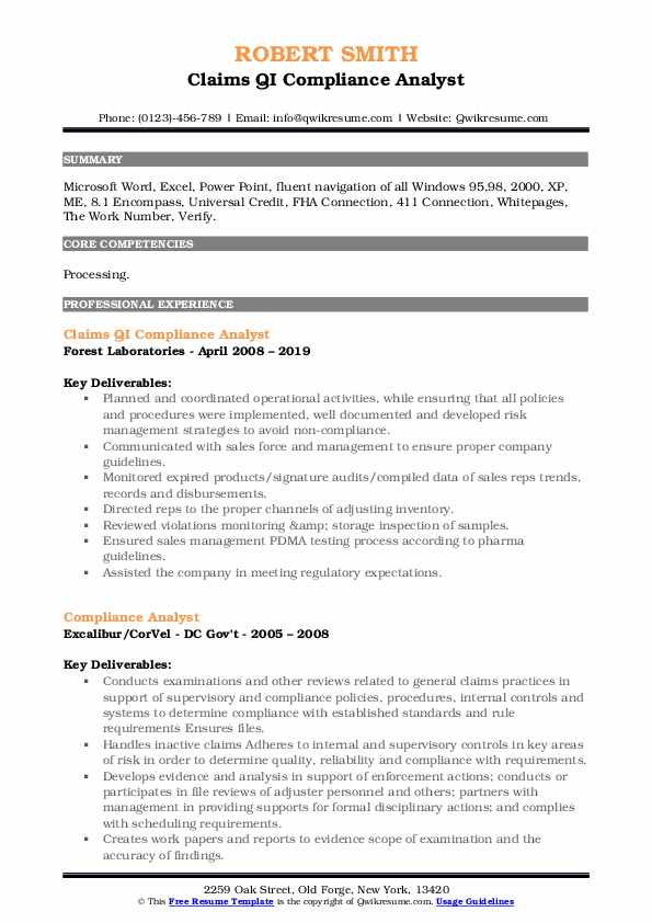 compliance analyst resume samples qwikresume sample pdf teenager examples for teens Resume Compliance Analyst Resume Sample