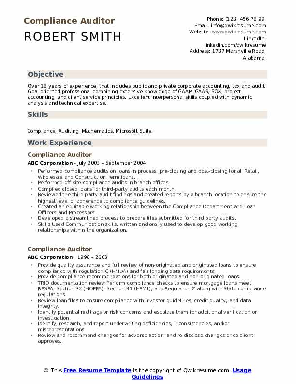 compliance auditor resume samples qwikresume medical sample pdf tips submitting your via Resume Medical Auditor Resume Sample