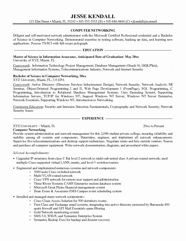 computer information systems resume awesome puter networking administrator skills Resume Desktop Administrator Resume