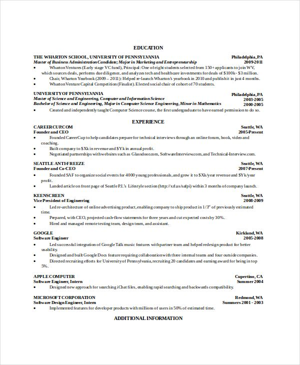 computer science resume undergraduate for you software engineer intern reddit dishwasher Resume Software Engineer Intern Resume Reddit
