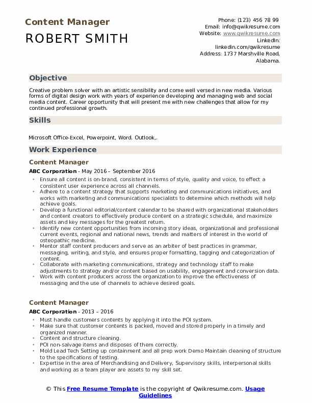 content manager resume samples qwikresume web pdf desktop publisher cna sample finance Resume Web Content Manager Resume