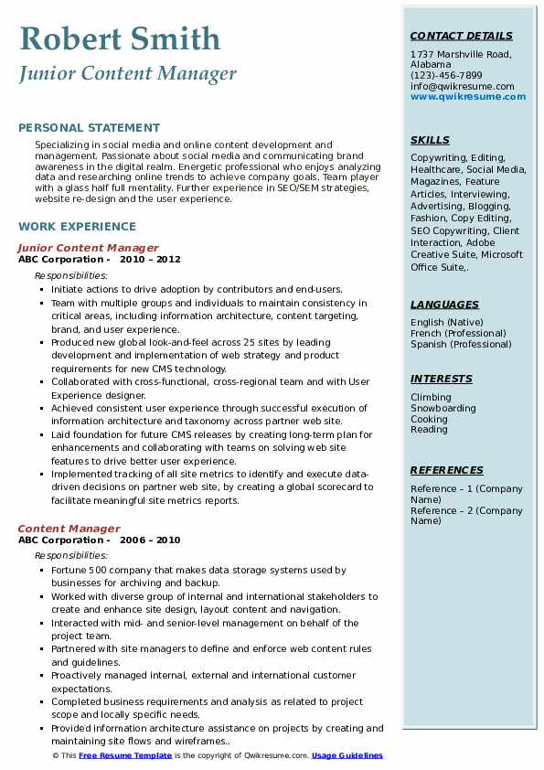 content manager resume samples qwikresume web pdf desktop publisher recent high school Resume Web Content Manager Resume