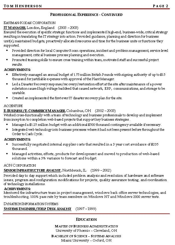 continuity risk managnment resume example management samples if you feel int objective Resume Resume Objective Examples For Management