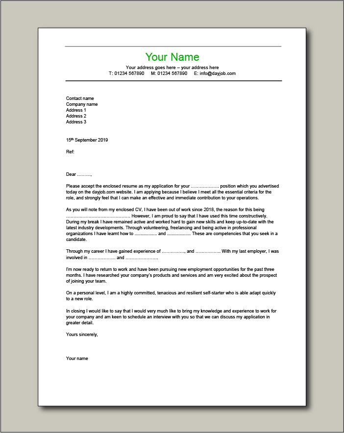 cover letter examples for different job roles in dayjob advertise resume writing services Resume Advertise Resume Writing Services
