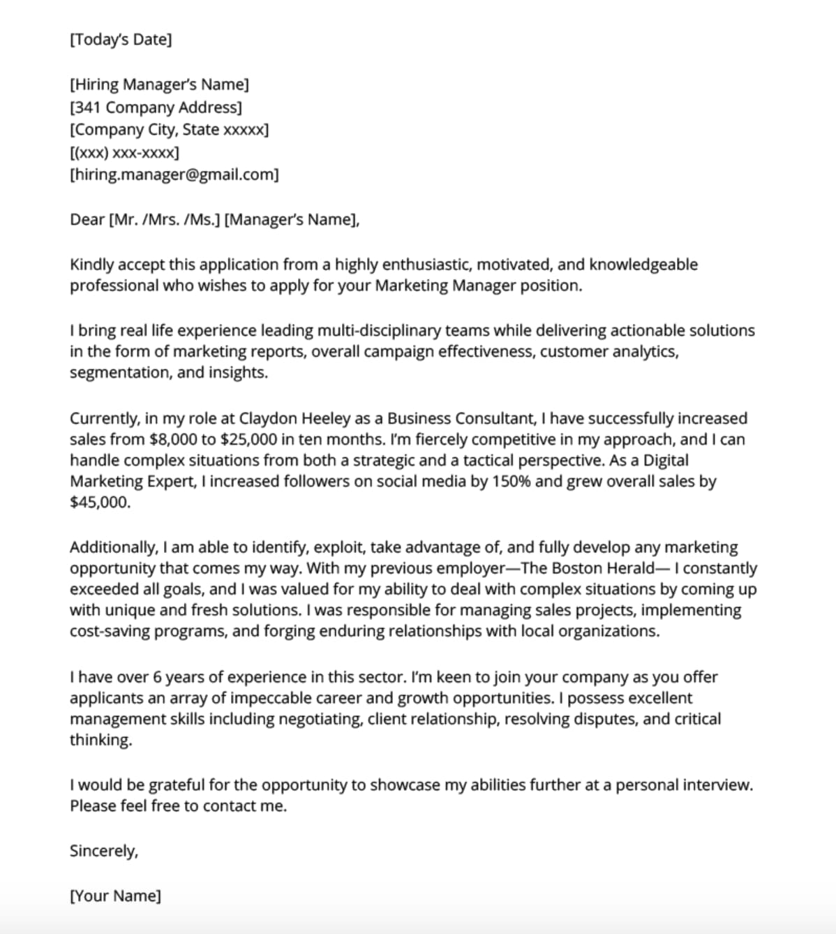 cover letter templates to perfect your next job application resume generic example devry Resume Resume Cover Letter Generic