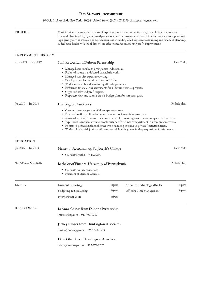 create your job winning resume free maker io with only one history data analyst intern Resume Resume With Only One Job History