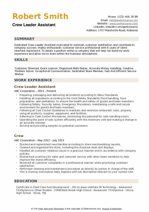 crew resume samples qwikresume objective examples for service pdf maker bookstore Resume Resume Objective Examples For Service Crew