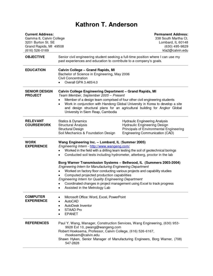 current college student resume in template free banking domain testing ansible experience Resume Student Resume Free Template