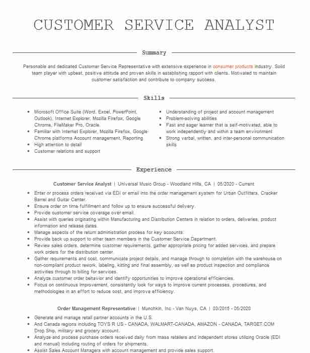 customer service representative resume sample monster examples rep writing edmonton unc Resume Customer Service Resume 2020