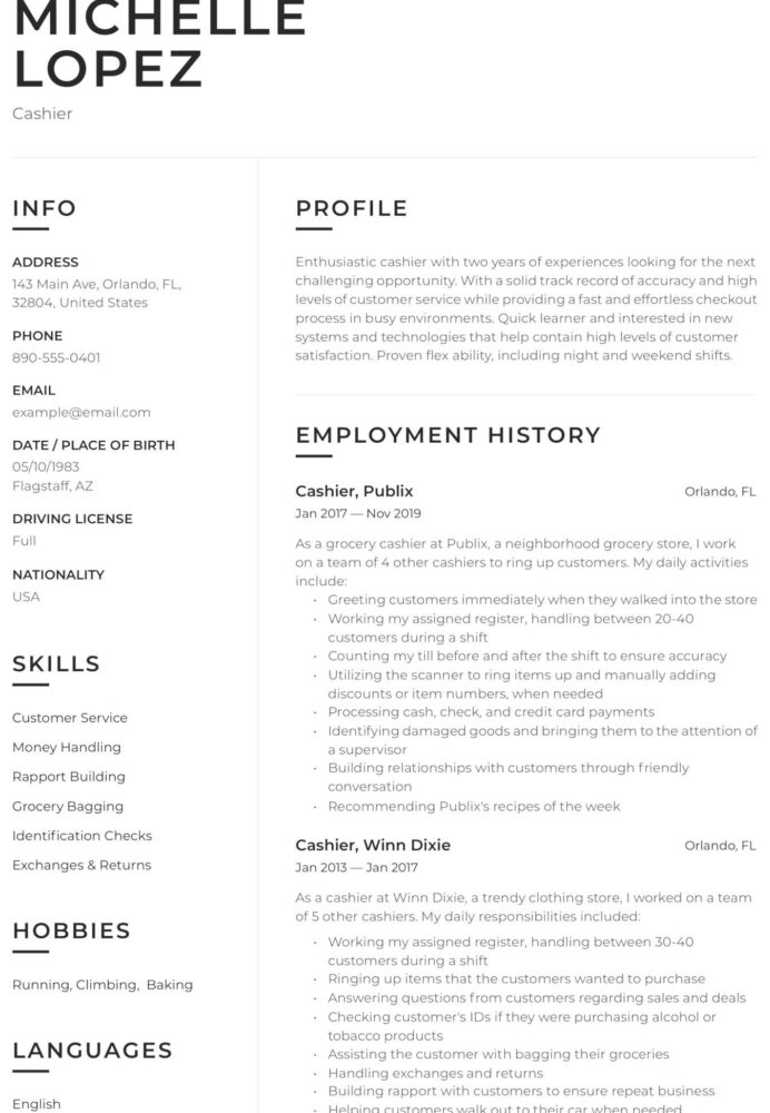customer service tipscustomer resume examples templates cover letter quotes business Resume Publix Customer Service Resume