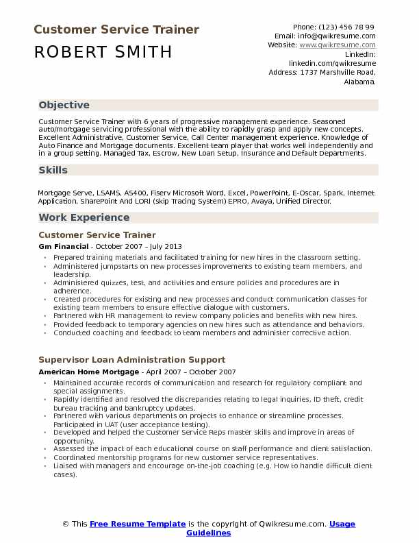customer service trainer resume samples qwikresume professional objective for pdf Resume Professional Resume Objective For Customer Service