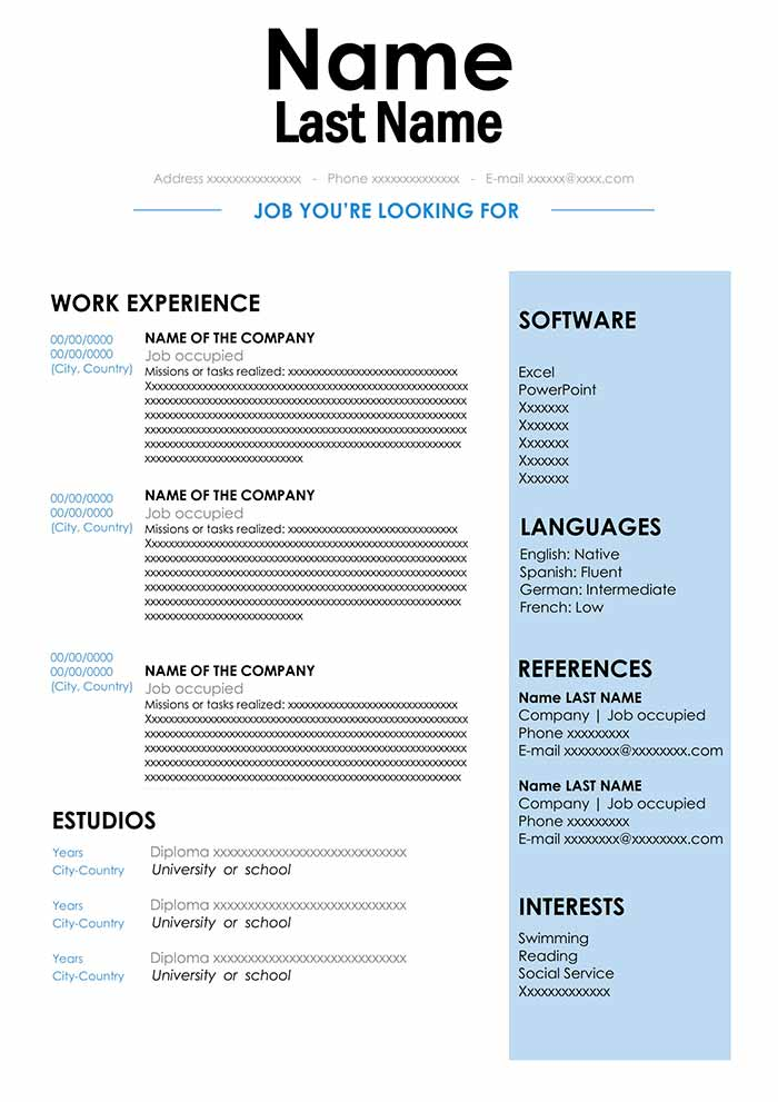 cv sample in format for word free resume document legal assistant examples corporate Resume Resume Sample Word Document Download