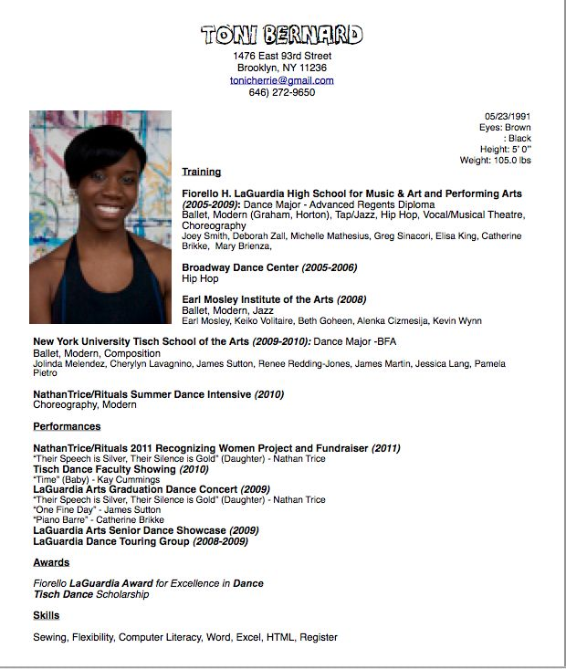dance resume format image search results careers sample choreographer occupational Resume Dance Choreographer Resume
