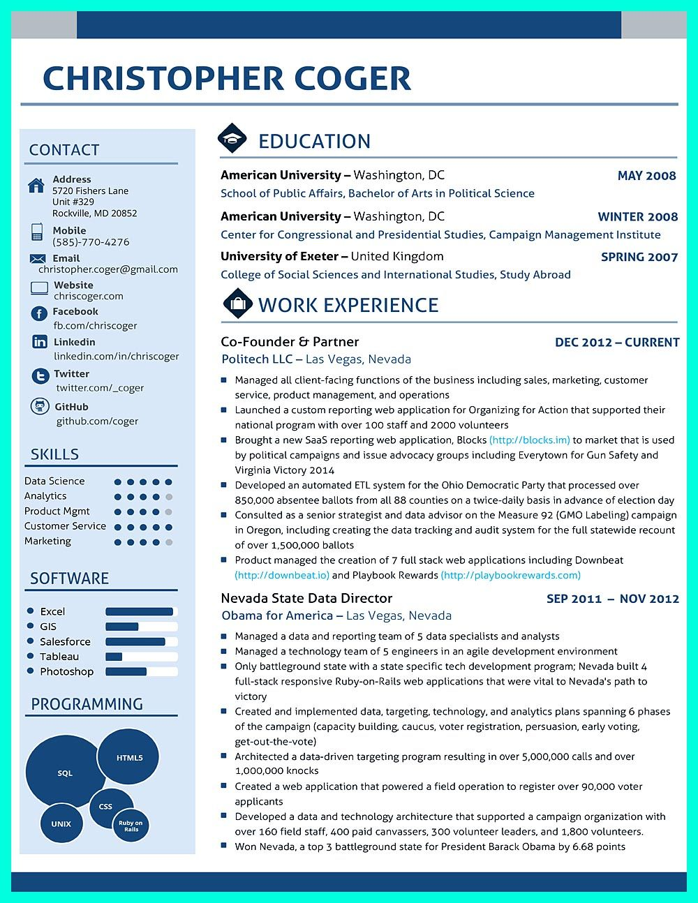 data scientist resume include everything about your education skill qualification and job Resume Data Science Resume Sample For Freshers