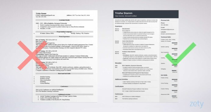 data scientist resume sample template driven guide summary example ucsd industrial Resume Data Scientist Resume Summary Example